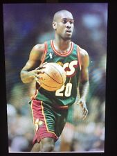 NBA Photo Negatives Lot Miami Heat Vs. Supersonics 1996 Basketball Star Players