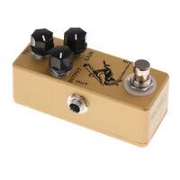 Loop Pedal Gitarre Mini Effektpedal 3 Steuerknöpfe aus Aluminiumlegierung
