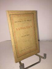 Napoléon par Van den Berg Bibliothèque des écoles et des familles 1885