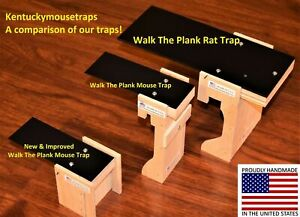 Walk The Plank Mouse Trap & Rat Trap - Auto Reset - USA MADE  Bucket Trap