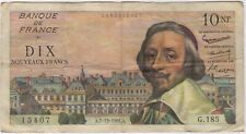More details for 1961 france 10 new francs bank note | pennies2pounds