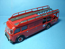 CAMION  FIAT  TRANSPORTEUR  FERRARI   OLD  CARS  RACING  TRANSPORTER  1/43