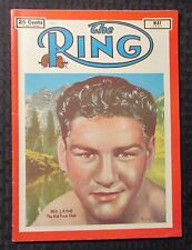 1951 May THE RING Boxing Magazine VG/FN 5.0 Rex Layne Cover