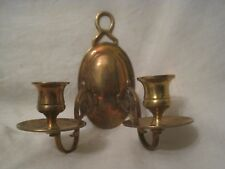 vintage ornate double candle holder wall sconce home house decor