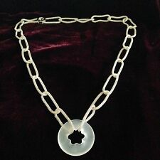 MONTBLANC - Star Decor Sterling Silver Necklace