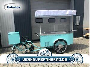 Hofmann Verkaufsfahrrad Eisverkauf mobiles Fahrrad Impulseisfahrrad