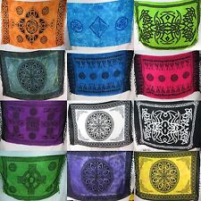 """10pc wholesale  45""""x66""""Celtic altar clothes sarong wall art tapestry beach dress"""