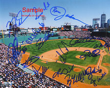 BOSTON RED SOX 2004 TEAM Original SIGNED Autographed 10x8 Photo COA #2