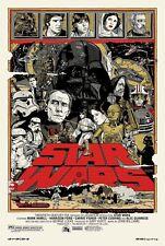 Star Wars Mondo Movie Poster Print T234  A4 A3 A2 A1 A0 