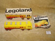 Conjuntos de LEGO: Legoland: gasolinera: 621-2 Camión Cisterna Shell (1970) 100% Caja Inst