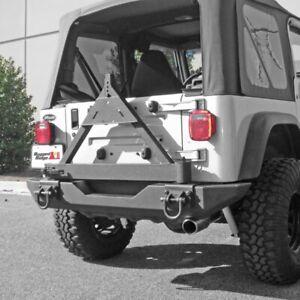 Rugged Ridge 11546.42 Tire Carrier for XHD Rear Bumper 76-06 Jeep CJ/YJ/TJ