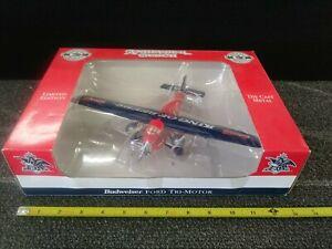Anheuser-Busch Diecast Ford Tri-Motor Airplane Bank