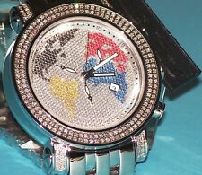 New Authentic  Jty10 map Mens JOJO Joe Rodeo Tyler 2.00ct.aprx.diamond Watch