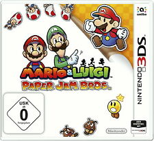 Mario & Luigi Paper Jam Bros Nintendo 3DS 2015 Keep Case *NEU & OVP* NEW 3DS 2DS