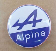 MAGNET AIMANT FRIGO LOGO ALPINE RENAULT DIAMETRE 56 mm NEUF