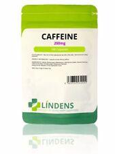 Caffeine Energy 200mg x 100 Rapid Release capsules - Lindens