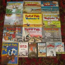 FootRoT FlaTs: Complete set of WEEKENDER 1-8 + Colouring book + Pocket editions