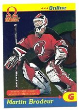 Martin Brodeur, 1998-99 Pacific Omega Online Card, # 19, New Jersey Devils