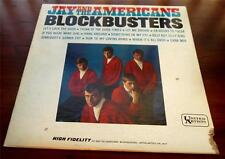 Jay And The Americans   Blockbusters 1965  United Artists 3417  Rock & Roll  VG+