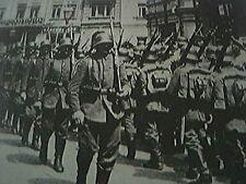 reprint picture ww1 - germans in kiev 1918