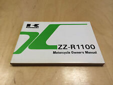 KAWASAKI ZZR 1100 Owner's manual (1992)