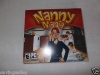 BRAND NEW Sealed Nanny Mania  (PC Games)