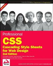 Professional CSS: Cascading Style Sheets fo... by Schmitt, Christopher Paperback