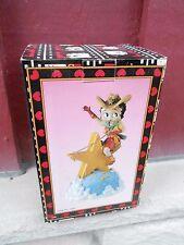1997 Nrfb Betty Boop Western Musical Star Figurine (S21D)