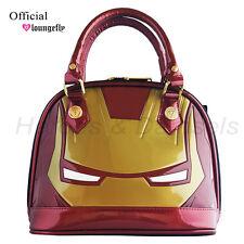 Marvel Comics Iron Man Mini Dome Satchel Hand Bag Purse by Loungefly NWT Cosplay