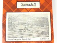 HO 1/87 Scale Campbell 425 Kiowa Trackside Details No. 1 Craftsman Building Kit