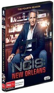 NCIS - New Orleans Season 4 (DVD, 2018, 6-Disc Set), NEW SEALED REGION 4
