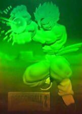 Dragonball Z Amada 3D Hologram Memorial Dbz Goku Vegeta Gohan Heroes 4 CARD SET