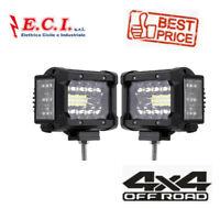 3,5 POLLICI 72W PROIETTORI LED DOPPIO FASCIO 2 pezzi per Jeep Offroad ATV SUV