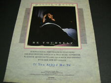 Patti Labelle If You Asked Me To Be Yourself original 1989 Promo Poster Ad mint