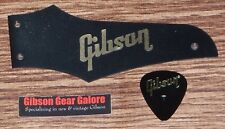 Gibson Firebird Truss Rod Cover Non Reverse Matte Black Gld Guitar Parts Project