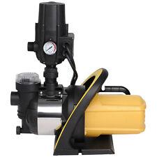 Wasserpumpe Gartenpumpe Hauswasserwerk 1200 W Wasserfilter Druckregler