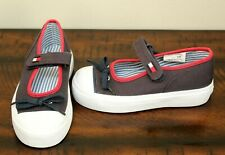 New Tommy Hilfiger Navy Mary Janes sz 9.5 Toddler Girl Blue Shoes Sneakers