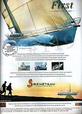 BENETEAU FIRST Yacht ADVERT - 2003 Advertisement 27.7 - 36.7 - 40.7