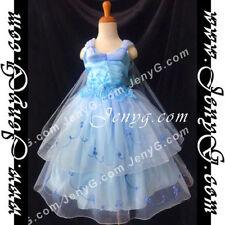 Robes bleus décontractées pour fille de 2 à 16 ans