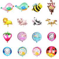 Animal Foil Balloons Kid Baby Birthday Party Favors Helium Balloon Supplies