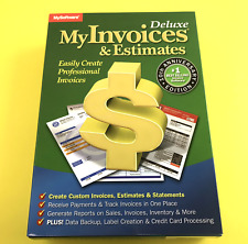 Avanquest MyInvoices & Estimates Deluxe 10 for Windows #0602