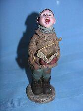 1992 Sarahs Attic Resin Figurine Choir Boy Singer Victorian Era Dress #606