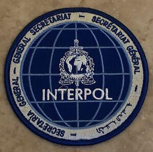Interpol International Criminal police Organization Association Police Patch