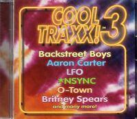 Cool Traxx 3 (2001 CD) Nsync/Backstreet Boys/R Kelly/Britney Spears/Aaron Carter