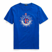Ralph Lauren Men's Sailing Tee Slim Fit Yacht Challenge S M or L Graphic T-Shirt
