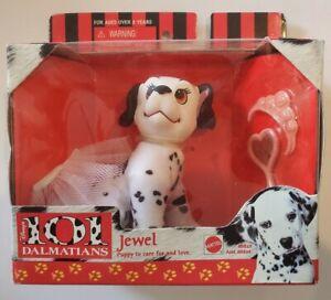 Vintage Mattel Disney 101 Dalmatians Puppies Toys Jewel Original Unopened Box