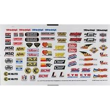 Traxxas Stampede 2wd Monster Truck TRA2514 Sponsor Decal Sheet:TMX.15,2.5,3.3,SL