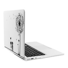 """Kwmobile funda rígida para Apple MacBook Air 13"""" (a partir de mediados de 2011) diente de león Love"""