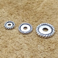 20/10/5pcs Sterling Silver Tire Spacer Bead 925 Silver for Bracelet 6mm 8mm 10mm