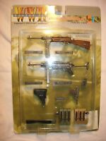 """Toy Weapon Set for 1/6 scale or 12"""" action figures like Dragon, Hot Toys, GI JOE"""